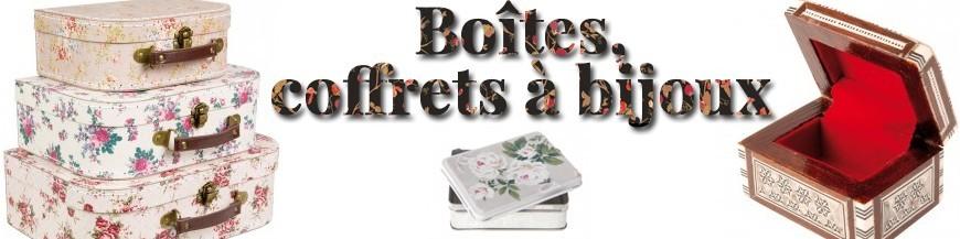 Boites, Coffrets à Bijoux